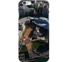 Civic Square, Wellington from the air iPhone Case/Skin