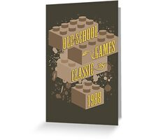 Old School Games - Classic Greeting Card