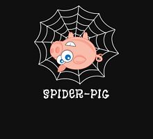 Spider-Pig on Black Unisex T-Shirt