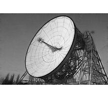 Fractalius Lovell Telescope at Jodrell Bank Photographic Print