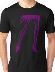 striped stockings Unisex T-Shirt