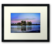 In The Water Framed Print