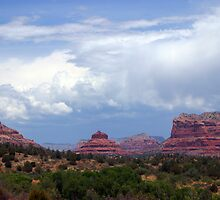 Clouds Over Sedona by Freese