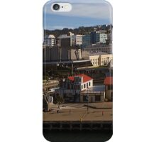 Wellington Boat Sheds from the air iPhone Case/Skin