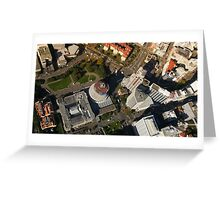 The Beehive from above Greeting Card