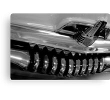 Holden Bumper and Grill Canvas Print