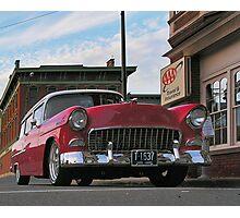 Chevy Wagon Photographic Print