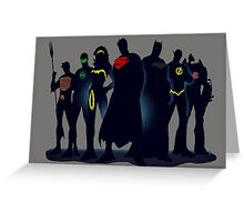 Justice League Greeting Card