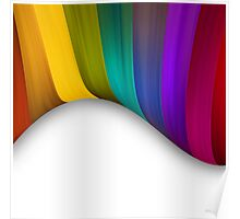 Abstract Color Background Poster