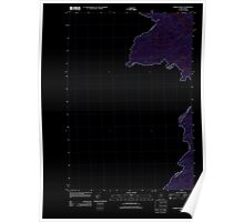 Maine USGS Historical Map Fisher Ponds 20110913 TM Inversion Poster