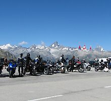 Motorcycles on Nufenen by grubb1980
