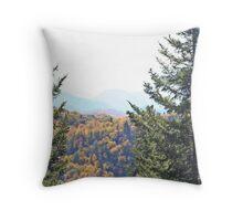 Smoky Mountain Fall Throw Pillow
