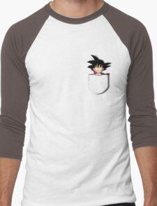 Pocket Chibi Goku Men's Baseball ¾ T-Shirt