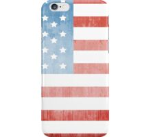 Grunge American flag iPhone Case/Skin