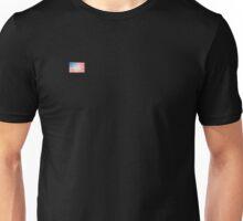Grunge American flag Unisex T-Shirt
