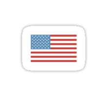 Flag Of America Sticker