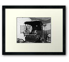 *The Buggy* Framed Print