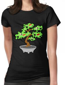Sushi bonsai... Womens Fitted T-Shirt