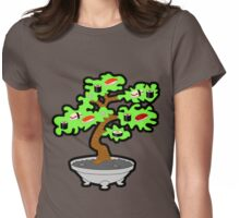 Sushi bonsai... Womens Fitted T-Shirt