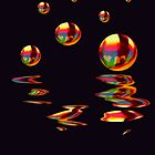 Rainbow Balls by Sally Green