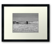 Freezing! Framed Print