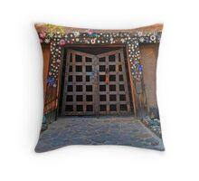 DeGrazia, Gallery In The Sun, Tucson, AZ. Throw Pillow