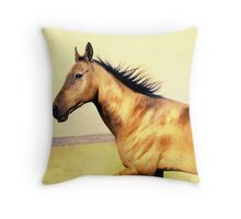 golden country Throw Pillow