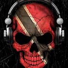 Dj Skull with Trinidad and Tobago Flag by Jeff Bartels