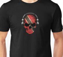 Dj Skull with Trinidad and Tobago Flag Unisex T-Shirt