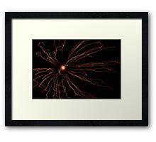 fireworks 15/7/11 Framed Print