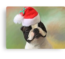 Jack Christmas Canvas Print