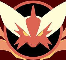 Mega Blaziken Icon by Kiro13
