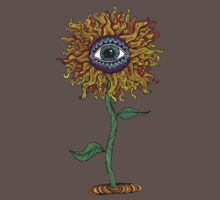 Psychedelic Sunflower - Exciting New Art - Doona is my favourite! Baby Tee