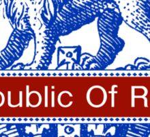 Republic Of Rock Sticker
