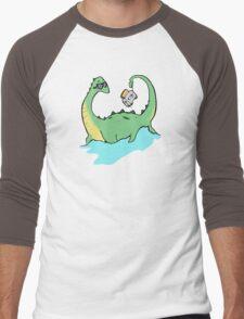 Nesstoaster Men's Baseball ¾ T-Shirt