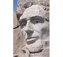 Abraham Lincoln, Mount Rushmore National Memorial Photographic Print