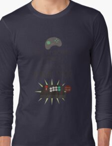 Try out a fight stick! Long Sleeve T-Shirt