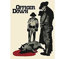 Officer Down Photographic Print