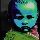 CHILD SUDAN ABSTRACT by OTIS PORRITT