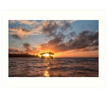 Sunrise in Paradise Art Print