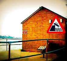 My Favorite Sign By Sandbanks Ferry by Shannon Byous Ruddy
