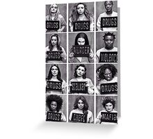 Orange Is The New Black Greeting Card