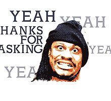 Marshawn Lynch - Beast Mode Yeah Thanks for asking by kramprusz