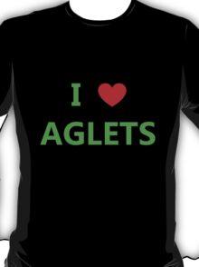 I Love Aglets - Phenias & Ferb style T-Shirt