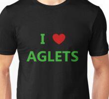 I Love Aglets - Phenias & Ferb style Unisex T-Shirt