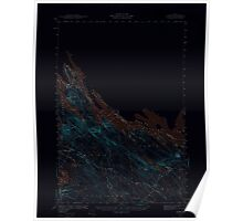 Maine USGS Historical Map Forest 306565 1940 62500 Inversion Poster