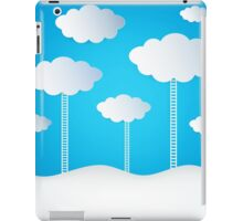 Abstract Design Clouds iPad Case/Skin
