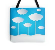 Abstract Design Clouds Tote Bag