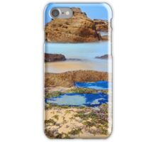 Rocks and rock pools iPhone Case/Skin
