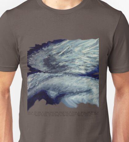 Every Knee T-shrit  W/ Bible Verse Unisex T-Shirt